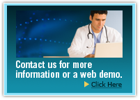 Contact us for more information or a web demo